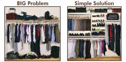 before-after closet